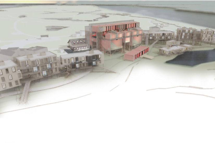 Construction d'une école et d'un ensemble de logements intermédiaires – Liuzhou, Chine
