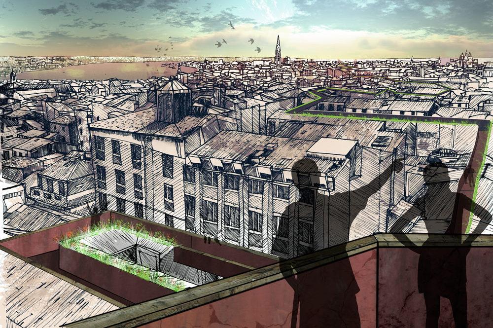 Par les toits qui courent – Bordeaux